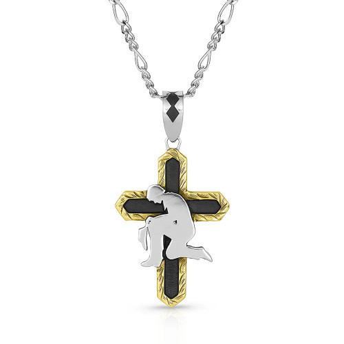 Surrender in Faith Cross Necklace NC4916