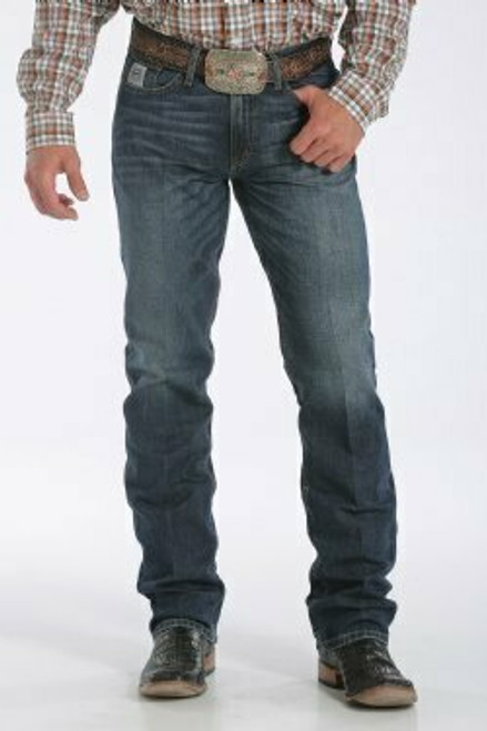 Cinch Slim Fit Silver Label Stonewash Jean MB98034006