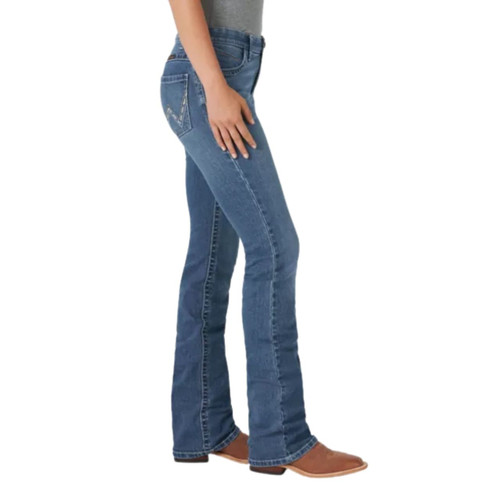 Wrangler Willow Mid Rise Boot Cut Ultimate Riding Jean WRW60GR