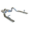 Flowmaster 1986-93 Ford Mustang LX 5.0  Cat-back System - Dual Rear Exit