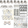 Ford 6.0 Powerstroke Engine Rebuild Kit with Pistons -18mm- Black Diamond 03 -05