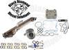 Black Diamond 6.0 Powerstroke 04-07 Silver EGR Cooler  Solution Kit