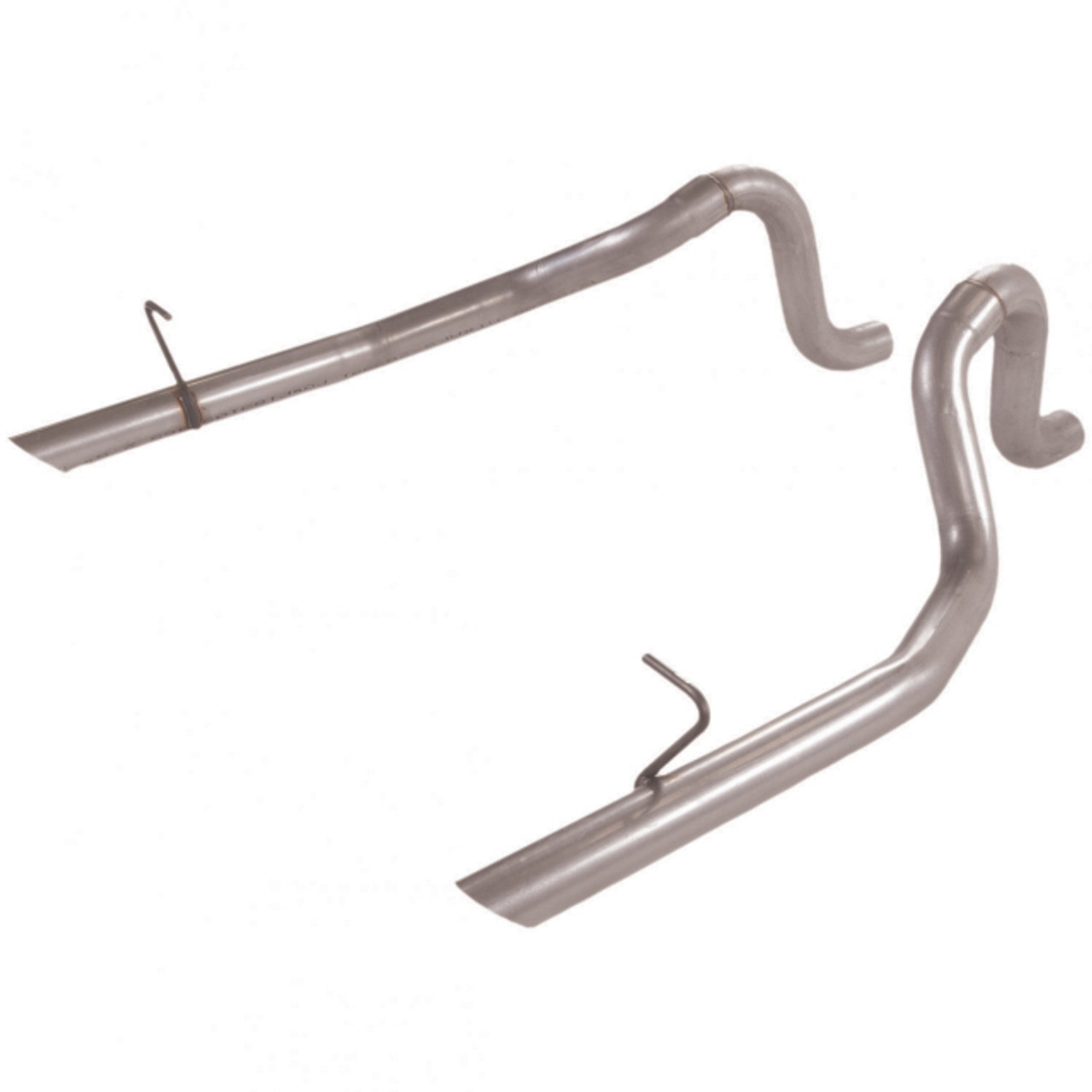 Flowmaster 1987-93 Ford Mustang, LX 5.0 Prebent Tailpipes - 2.50 in. Rear