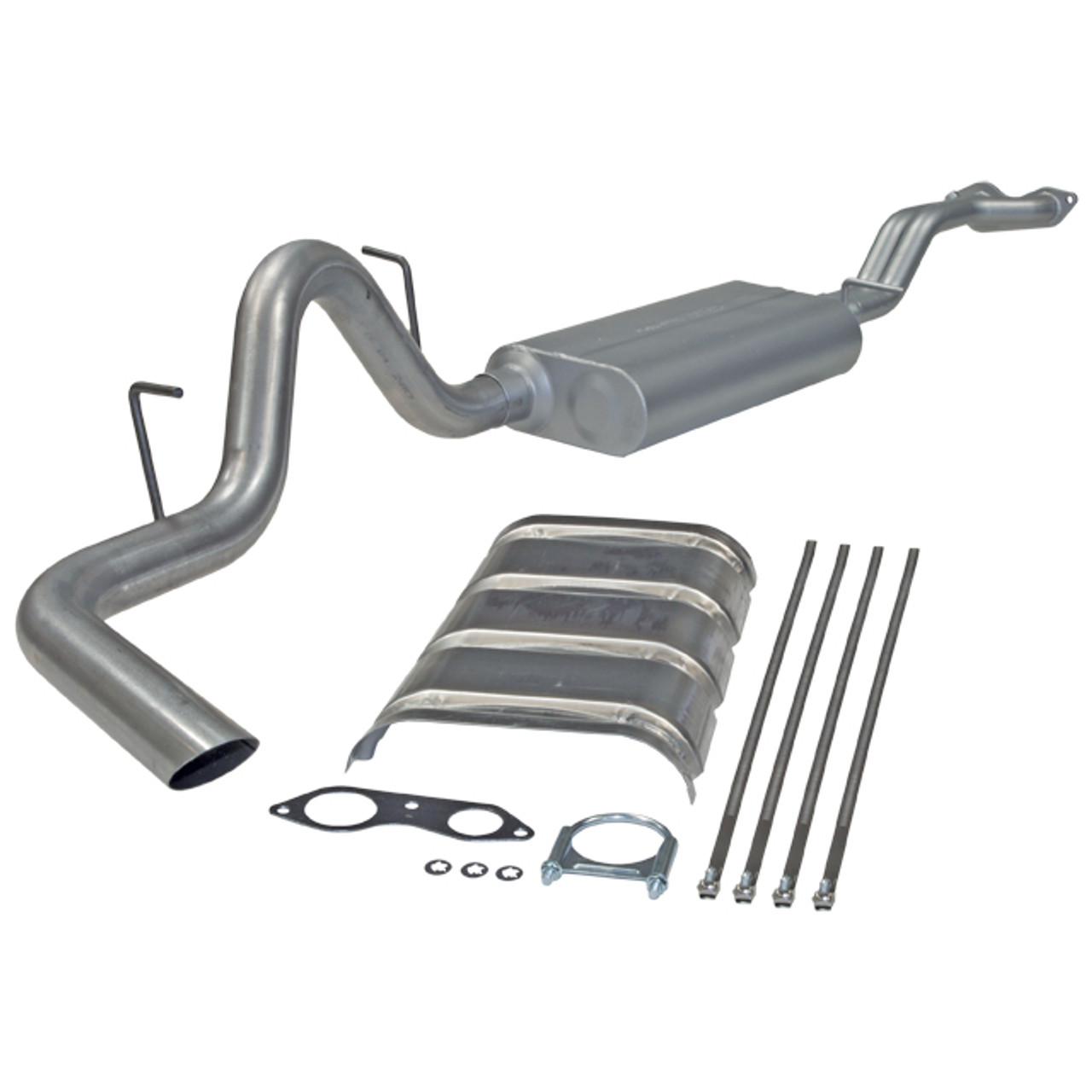 Flowmaster 1996-99 Chevy Tahoe GMC Yukon 5.7 Cat-back System Single Side Exit