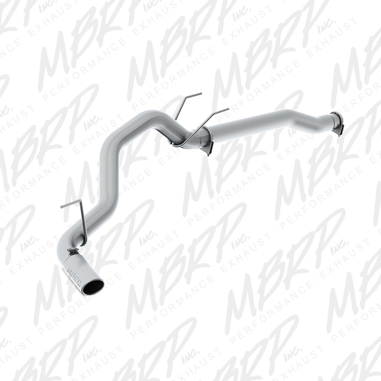 """MBRP 2014 Dodge Ram 1500 3.0L Ecodiesel 3.5"""" Filter Back, Single Side Exit, AL"""