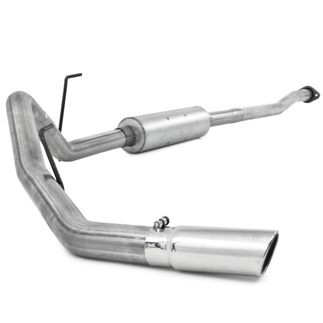 """MBRP 2011-2014 Ford F150, V6 EcoBoost 3"""" Cat Back, Single Side, AL"""