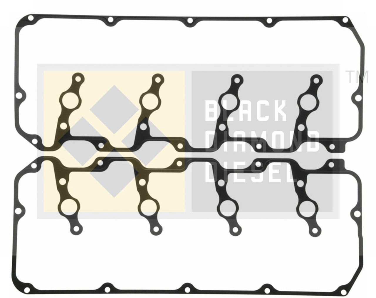 Black Diamond 04.5-05 Duramax 6.6 LLY Valve Cover Gasket Set