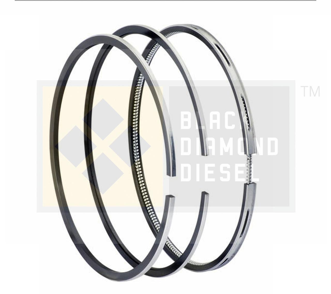 Black Diamond 07.5-10 Duramax 6.6 LMM Standard Piston Ring Set (1)