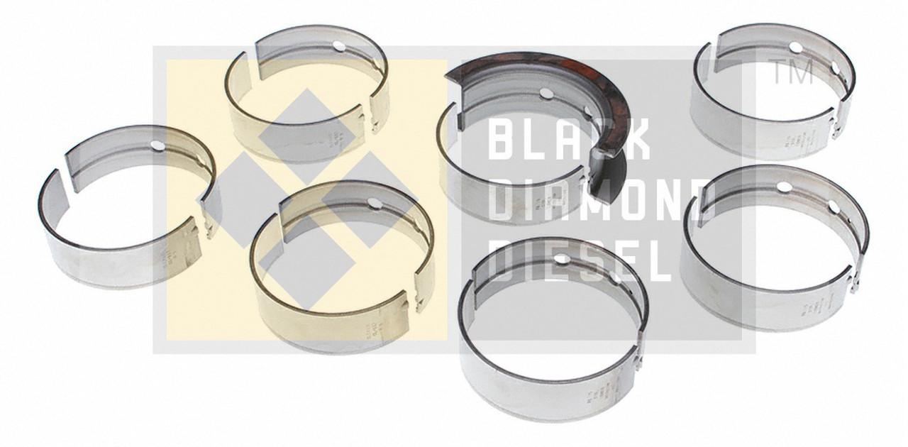 Black Diamond 07.5-15 Dodge 6.7 Cummins .25MM Undersize Main Bearing Set