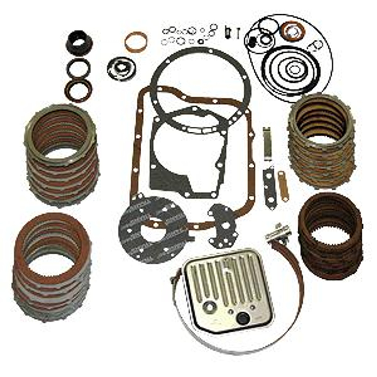ATS Diesel 2001-2005 ATS LCT-1000 5 speed Paper & Rubber kit