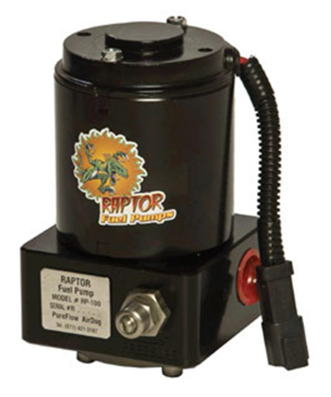 Pureflow/Airdog 2001-09 Chevy Duramax Raptor 100 Hi-Perf Pump Built-In Adj Reg
