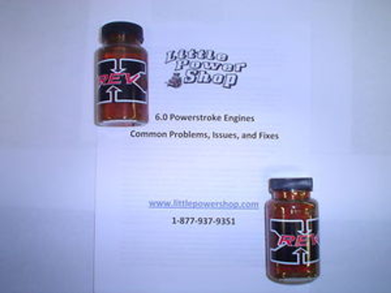 03-07 Ford 6.0 Powerstroke Problems and Fixes Report with Free Rev X Starter Kit
