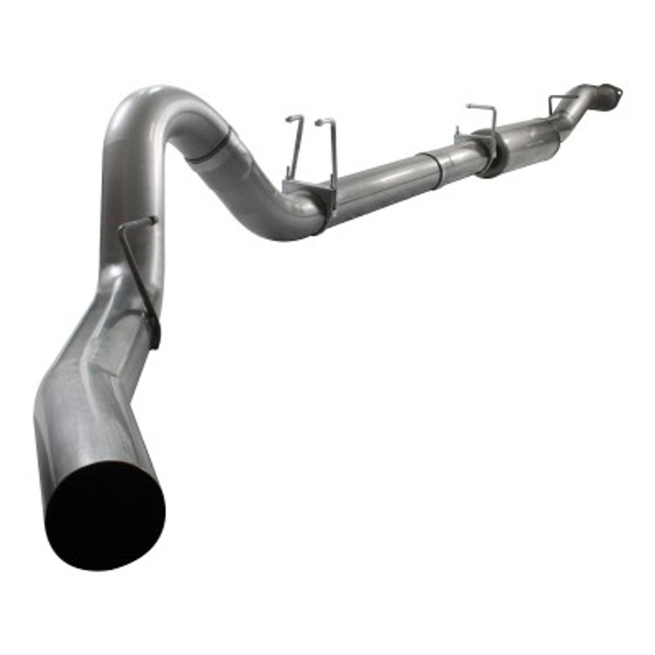 MACH Force XP 5' Down-Pipe Back Stainless Steel Exhaust System; Ford Diesel Trucks 08-10 V8-6.4L (td)