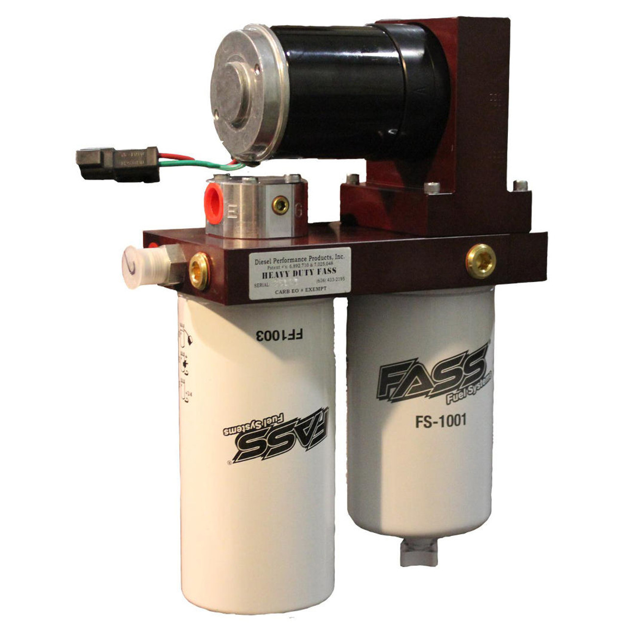 FASS 2005-07 Ford Powerstroke 200 GPH Flow Rate 50PSI Heavy Duty Series