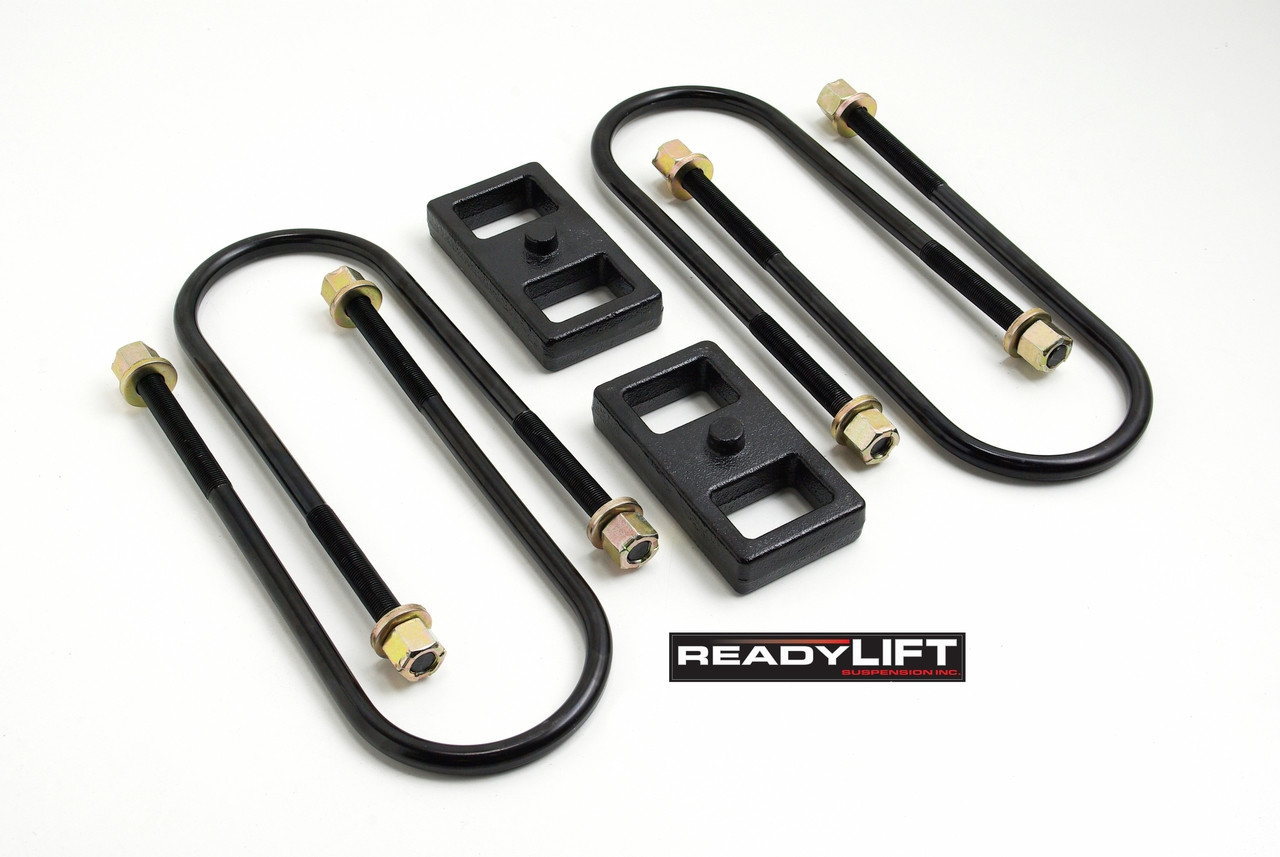 """Readylift 1.0"""" TALL BLOCK-FOR USE WO TOP MOUNTED OVERLOADS 2003-2013 DODGE-RAM 2500/3500"""