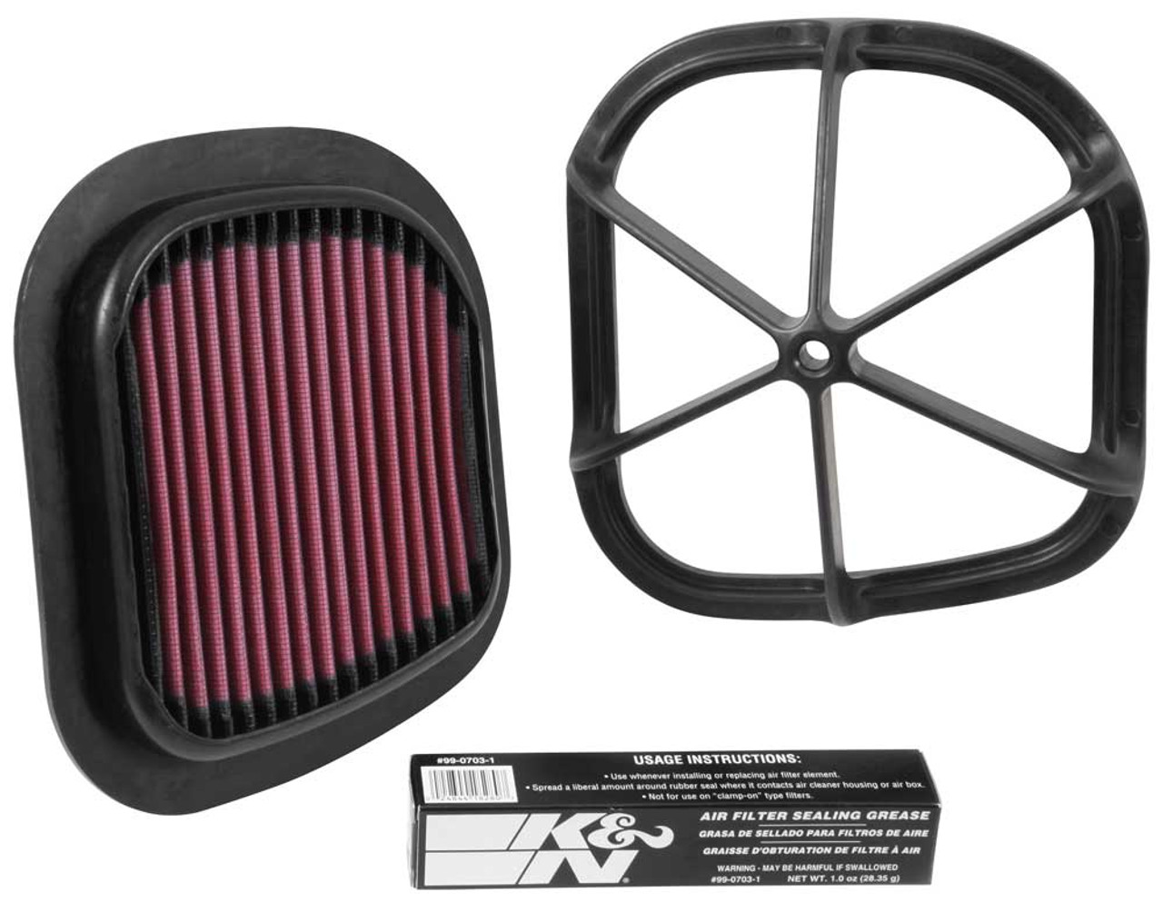 K&N Replacement Air Filter KTM 450 SX-F; 2013