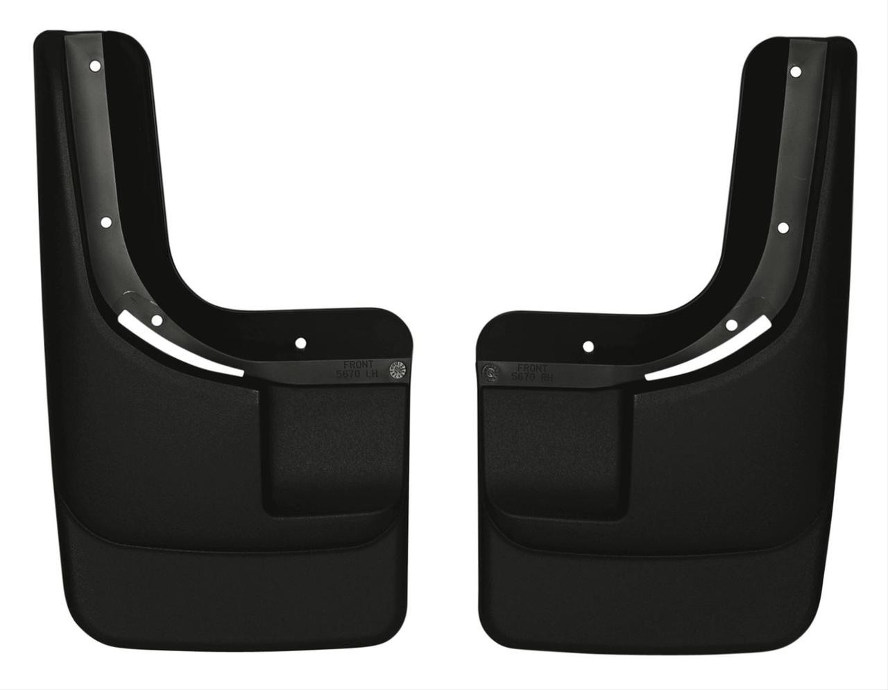 04-12 COLORADO/CANYON W/O FLARES FRONT MUD GUARDS