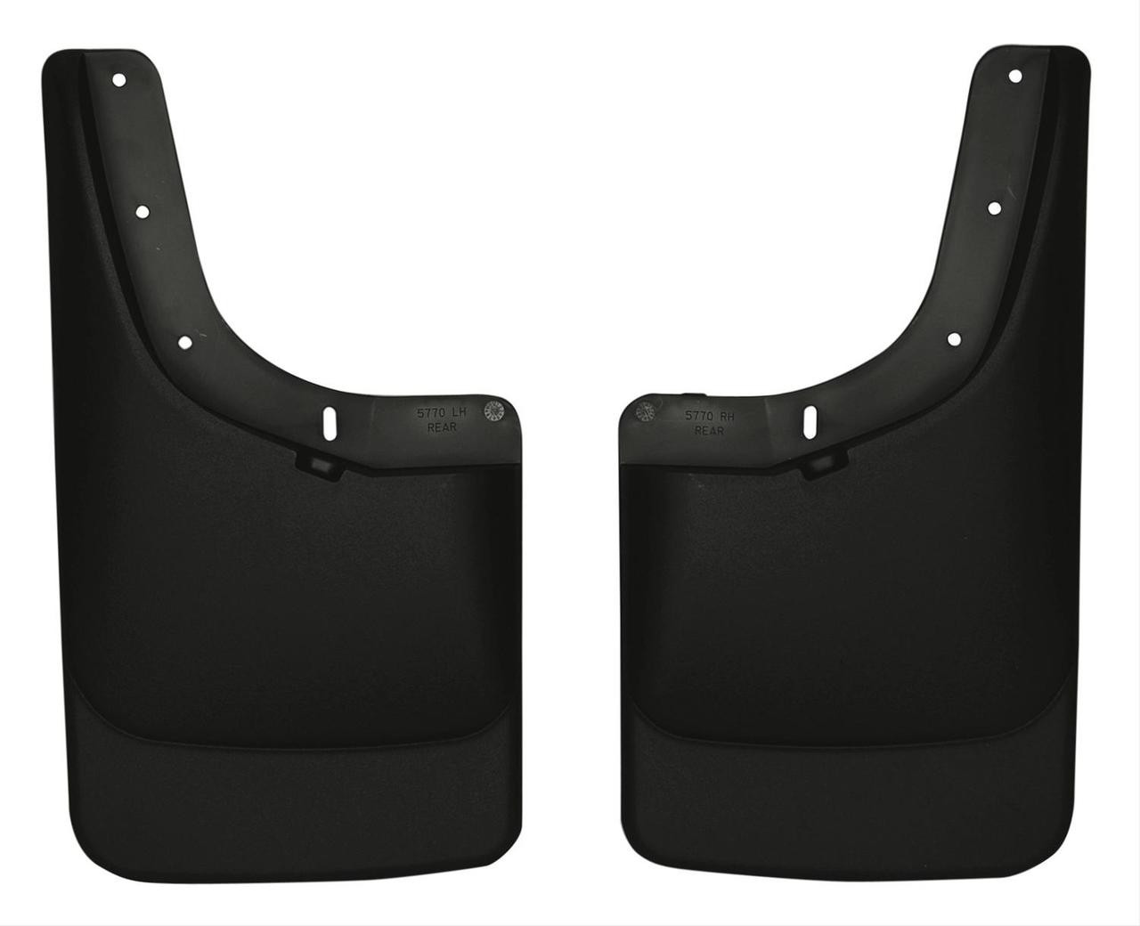 04-12 COLORADO/CANYON W/O FLARES REAR MUD GUARDS