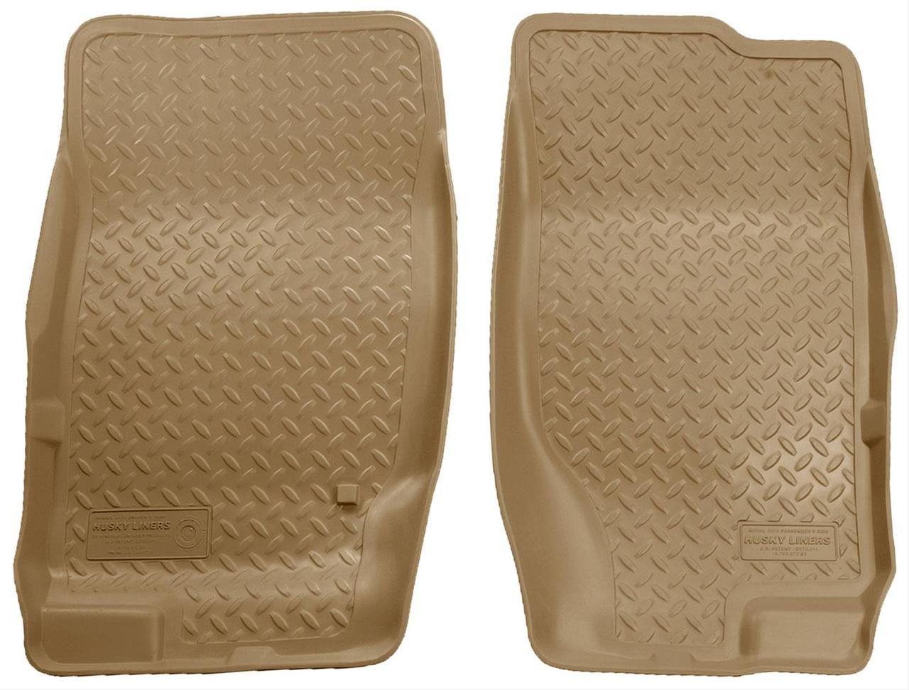 02-10 EXPLORER/MOUNTAINEER 4 DR./03-05 AVIATOR (AUTOMATIC TRANSMISSION ONLY) FLOOR LINER TAN