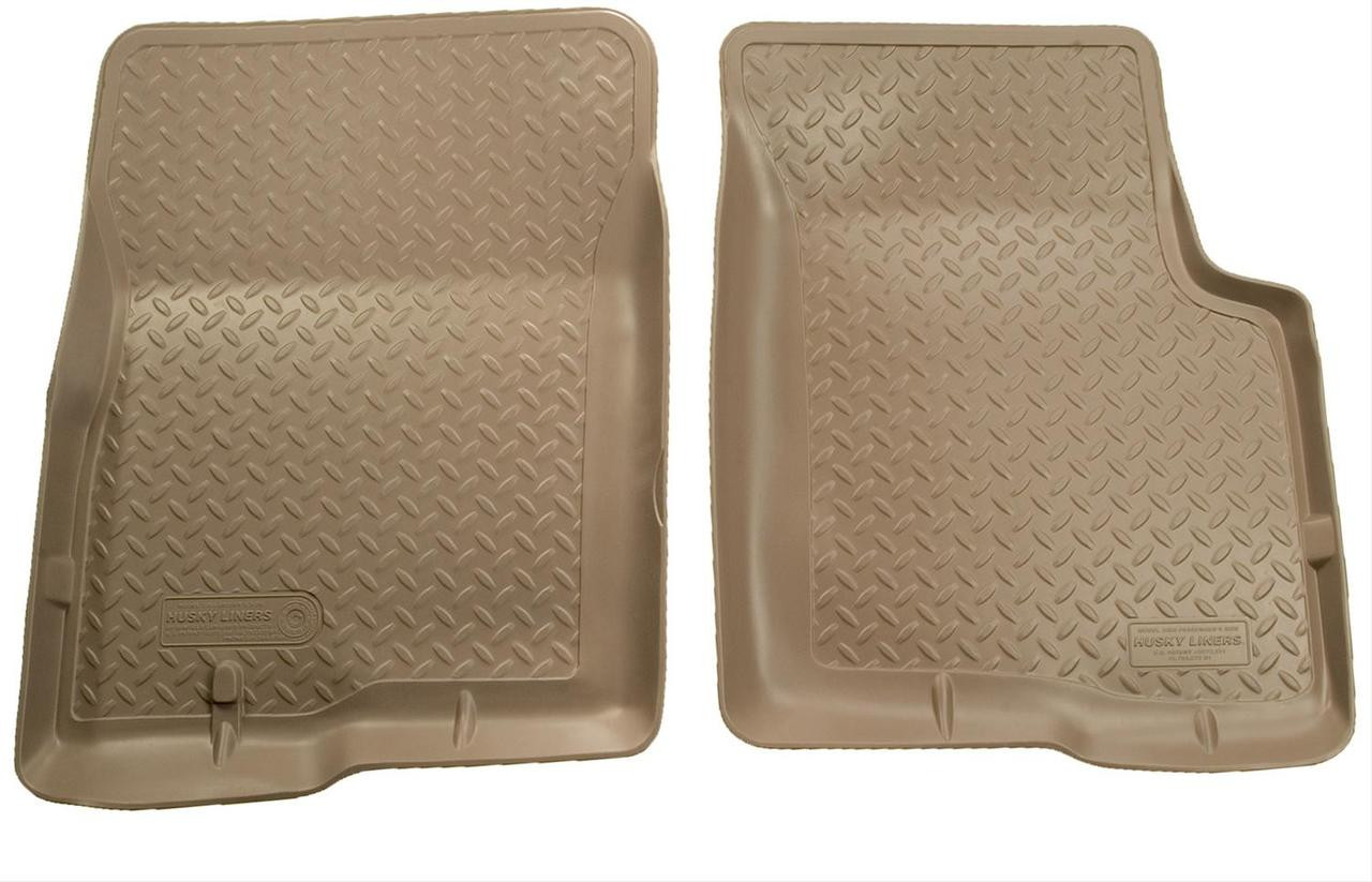 01-04 TACOMA DOUBLE CAB FRONT FLOOR LINER TAN
