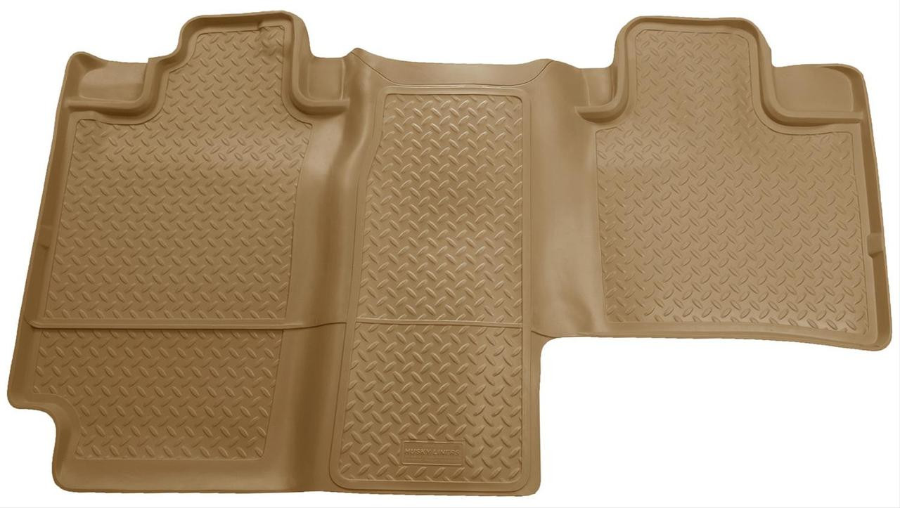 04-08 F150 SUPERCREW W/PLASTIC JACK BOX 2ND SEAT FLOOR LINER TAN