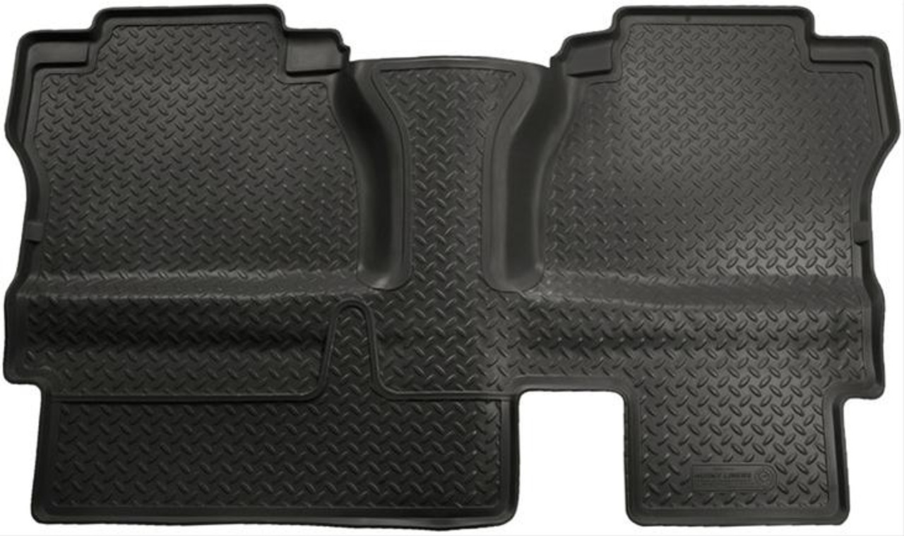 07-13 TUNDRA DOUBLE CAB WITHOUT OEM UNDERSEAT STORAGE BOX (1PC UNIT) 2ND SEAT FLOOR LINER BLACK