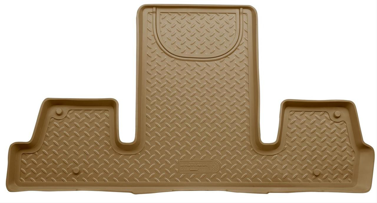 08-16 ENCLAVE/09-16 TRAVERSE/07-16 ACADIA/07-16 OUTLOOK(W/2ND ROW BUCKET) 3RD SEAT FLOOR LINER TAN
