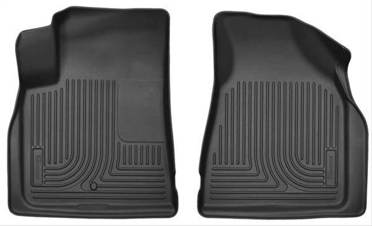 07-17 ACADIA/ENCLAVE/OUTLOOK/TRAVERSE FRONT FLOOR LINERS BLACK