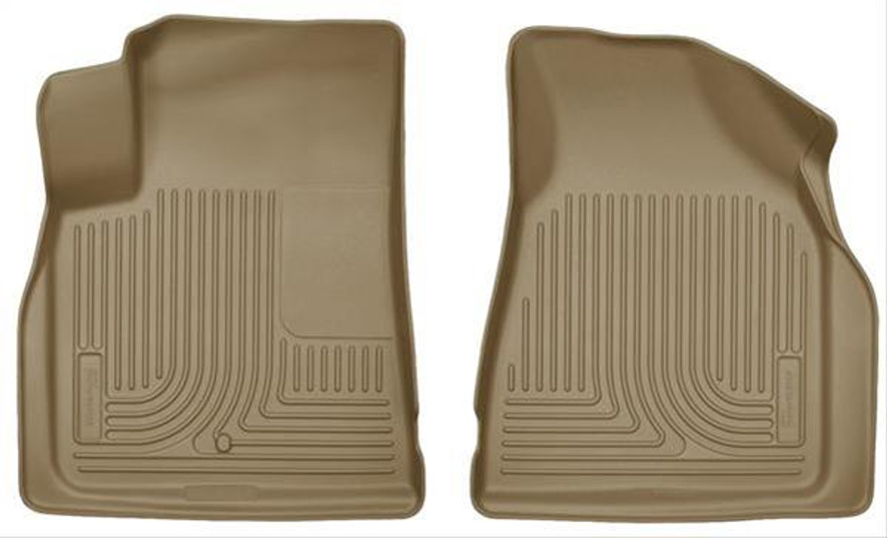 07-17 ACADIA/ENCLAVE/OUTLOOK/TRAVERSE FRONT FLOOR LINERS TAN
