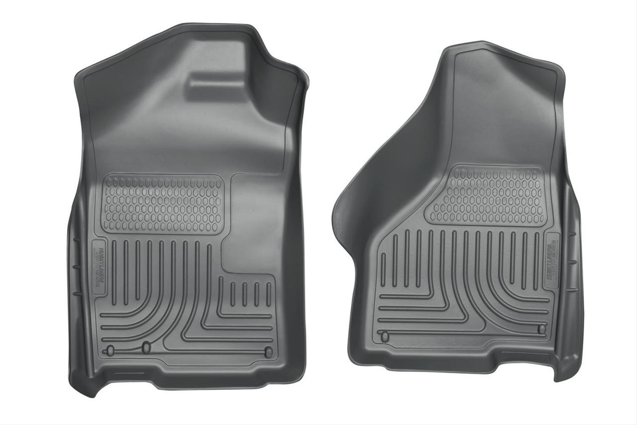 02-15 RAM 1500/03-15 RAM 2500/3500 QUAD/STD CAB WEATHERBEATER FRONT FLOOR LINERS GREY