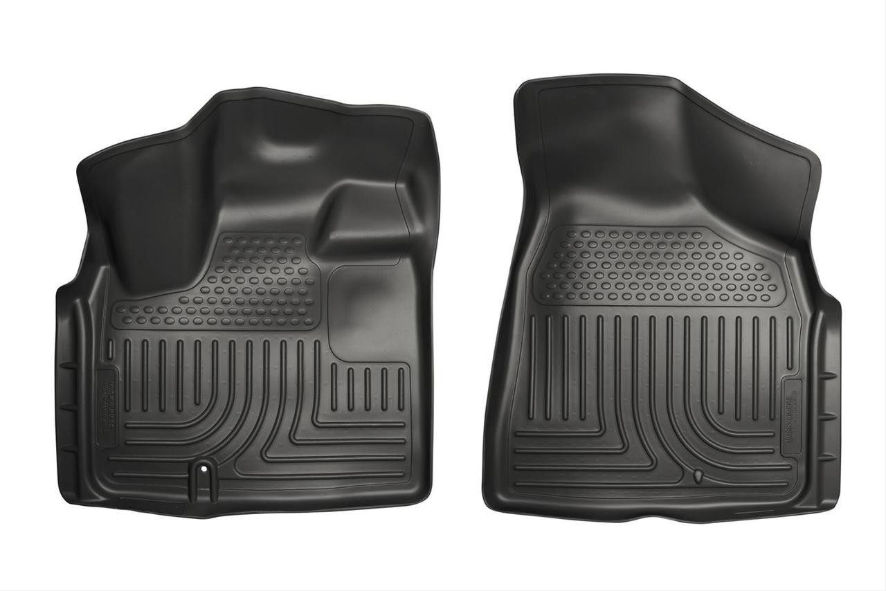 08-16 TOWN & COUNTRY/GRAND CARAVAN CUSTOM MOLDED WEATHERBEATER FRONT FLOOR LINERS BLACK
