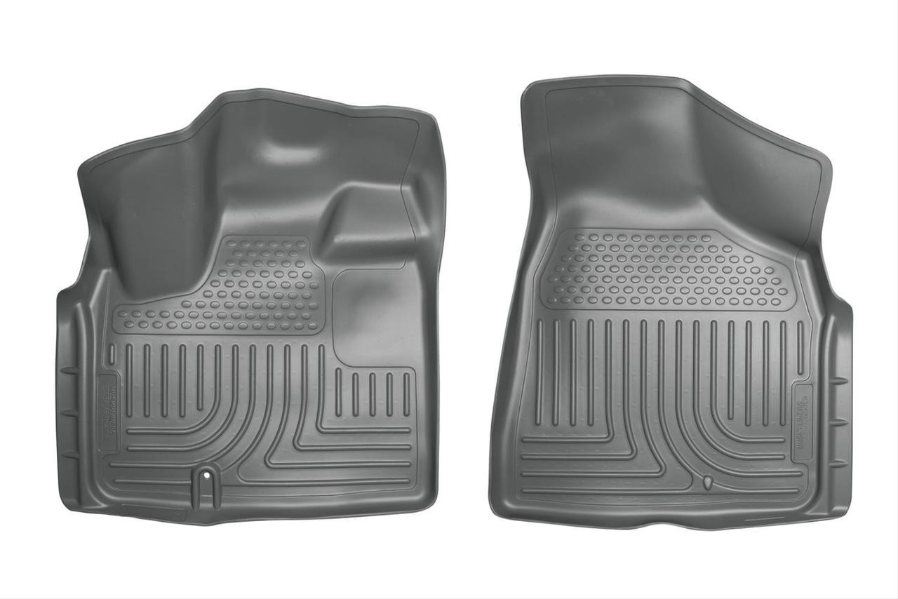 08-16 TOWN & COUNTRY/GRAND CARAVAN CUSTOM MOLDED WEATHERBEATER FRONT FLOOR LINERS GREY