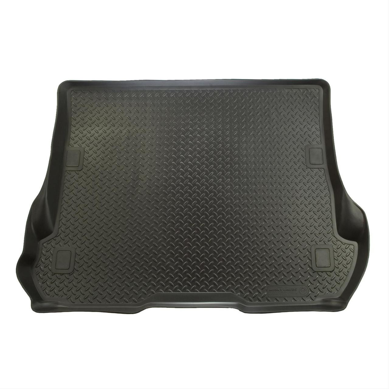 00-05 FORD EXCURSION - REAR CARGO LINER FITS BEHIND THIRD SEATREAR CARGO LINER BLACK