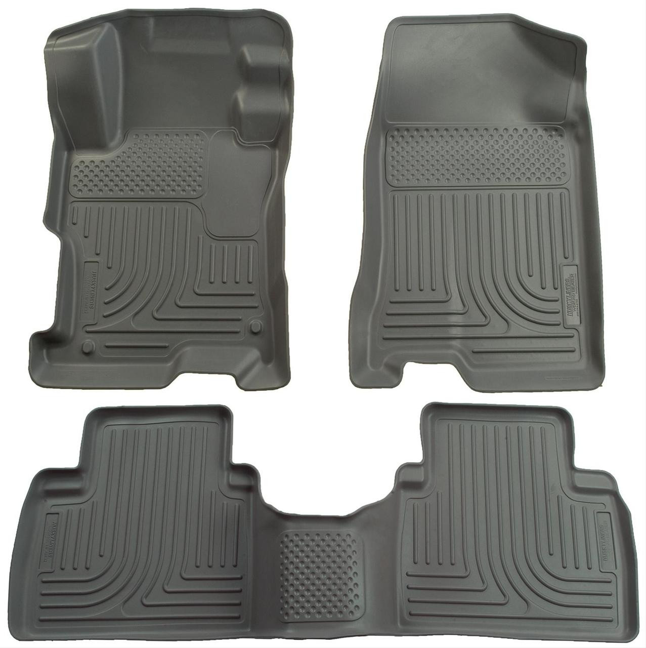 06-11 CIVIC 4-DOOR FRONT AND SECOND SEAT LINER GREY