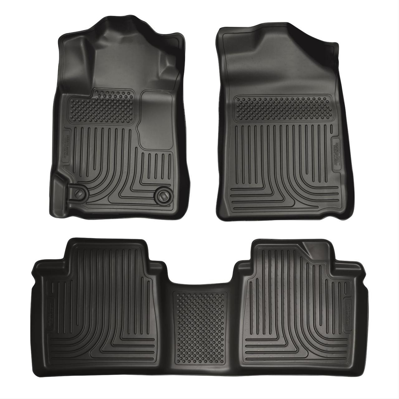 07-11 CAMRY FRONT AND SECOND SEAT LINER BLACK