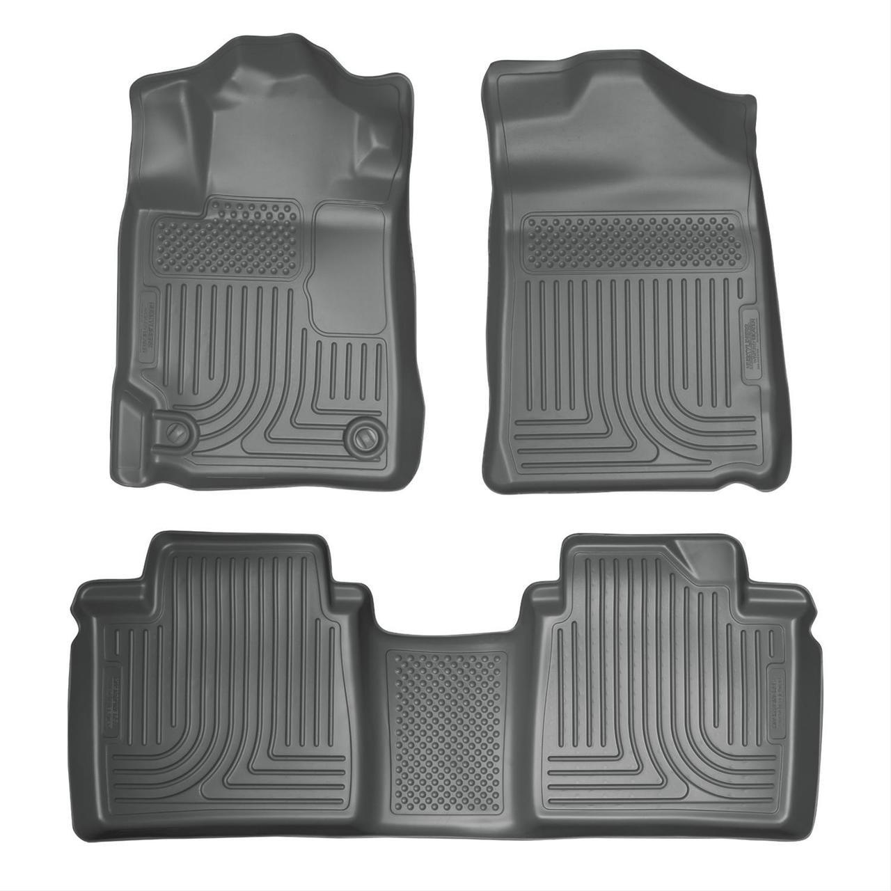07-11 CAMRY FRONT AND SECOND SEAT LINER GREY