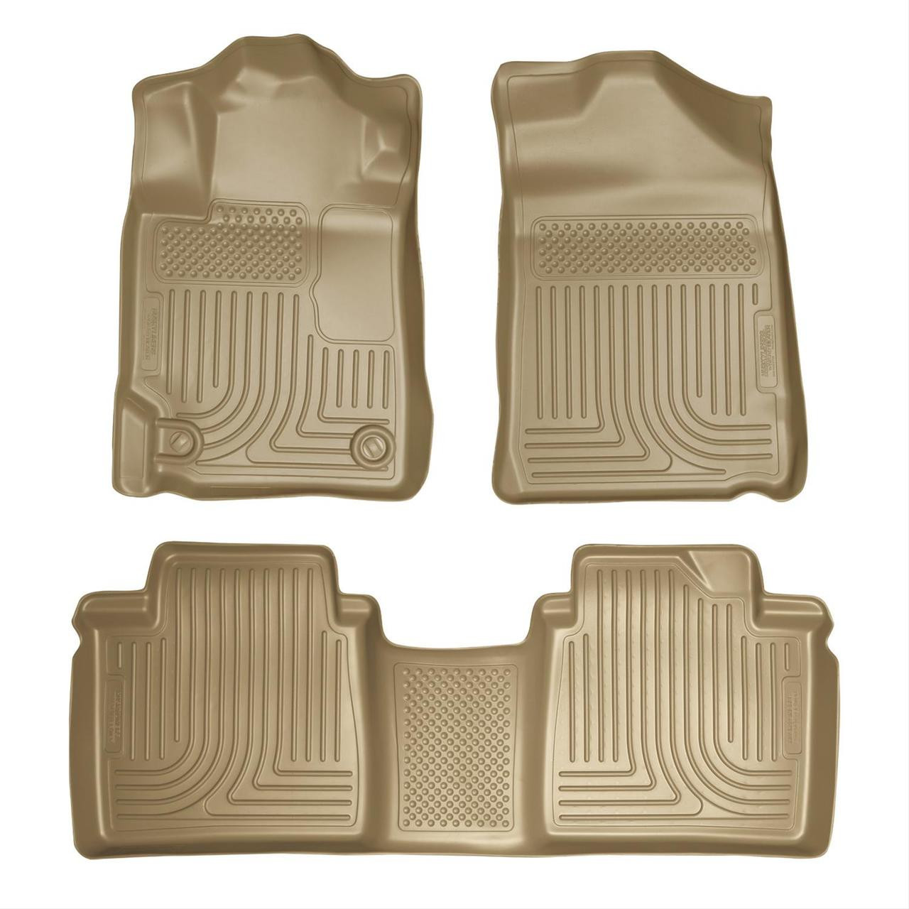 07-11 CAMRY FRONT AND SECOND SEAT LINER TAN