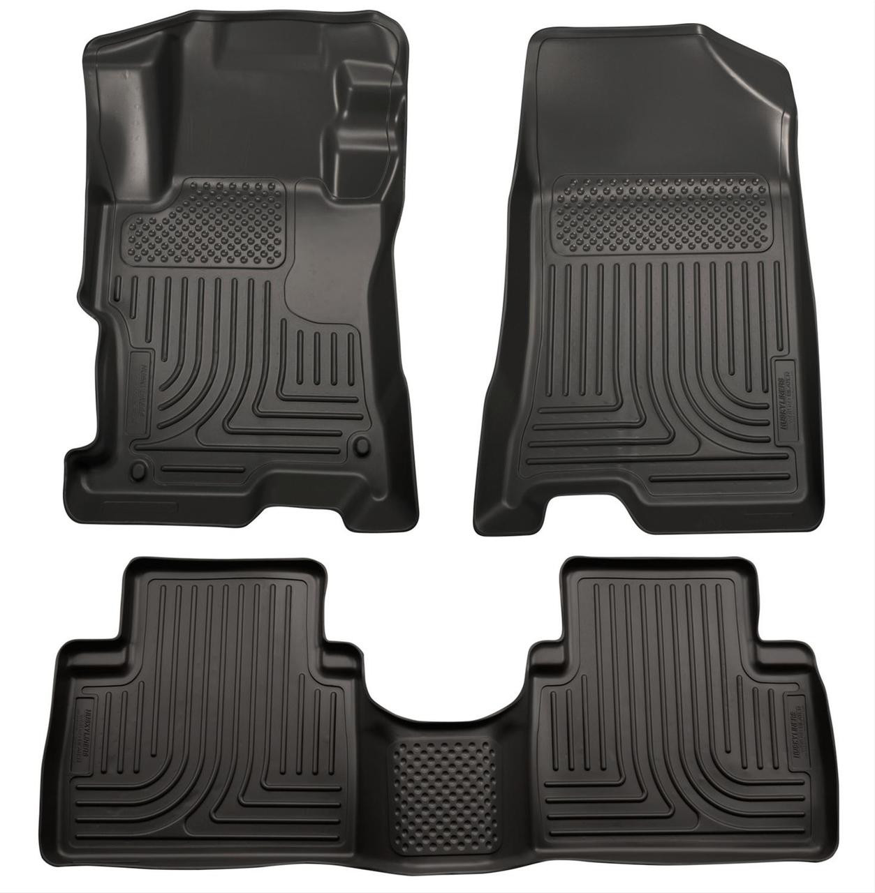 08-12 ACCORD 4-DOOR FRONT AND SECOND SEAT LINER BLACK