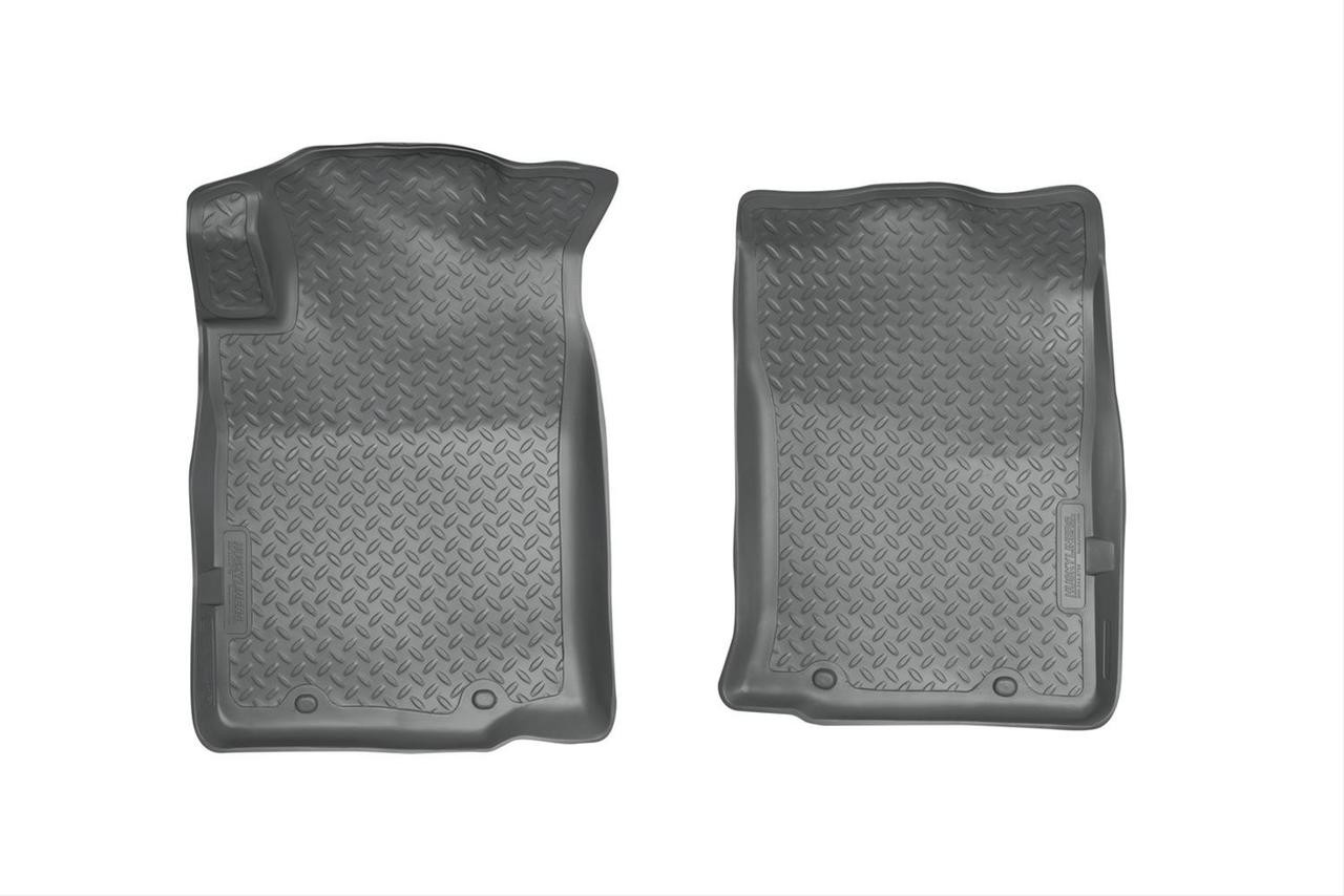 05-15 TACOMA CLASSIC STYLE FRONT FLOOR LINERS (W/TWIST LOCK OR REMOVABLE HOOK) GREY