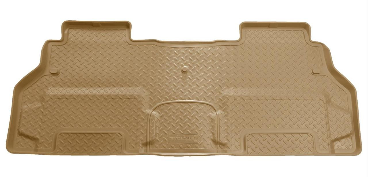 08-16 ENCLAVE/07-16 ACADIA/07-16 OUTLOOK/09-16 TRAVERSE(W/2ND ROW BUCKETS)2ND SEAT FLOOR LINER TAN