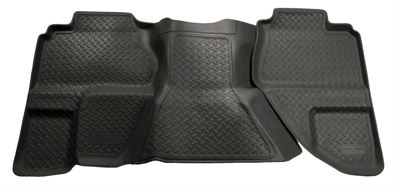 07-13 SILVERADO/SIERRA EXT CAB (NOT CLASSIC) BLACK SECOND SEAT FLOOR LINER