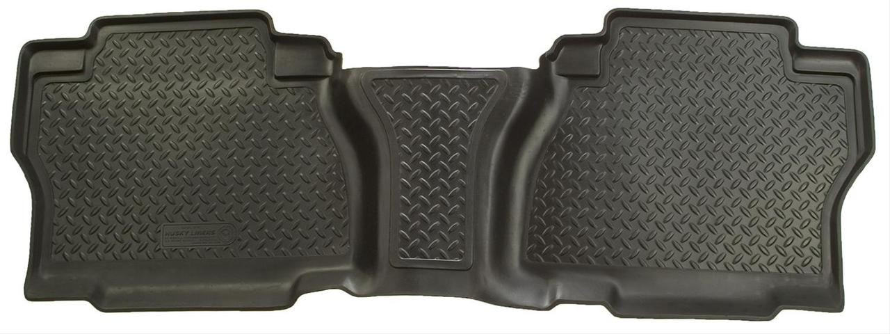 07-13 TUNDRA CREWMAX/DOUBLE CAB W/UNDER SEAT STRG 1PC 2ND SEAT FLOOR LINER BLK