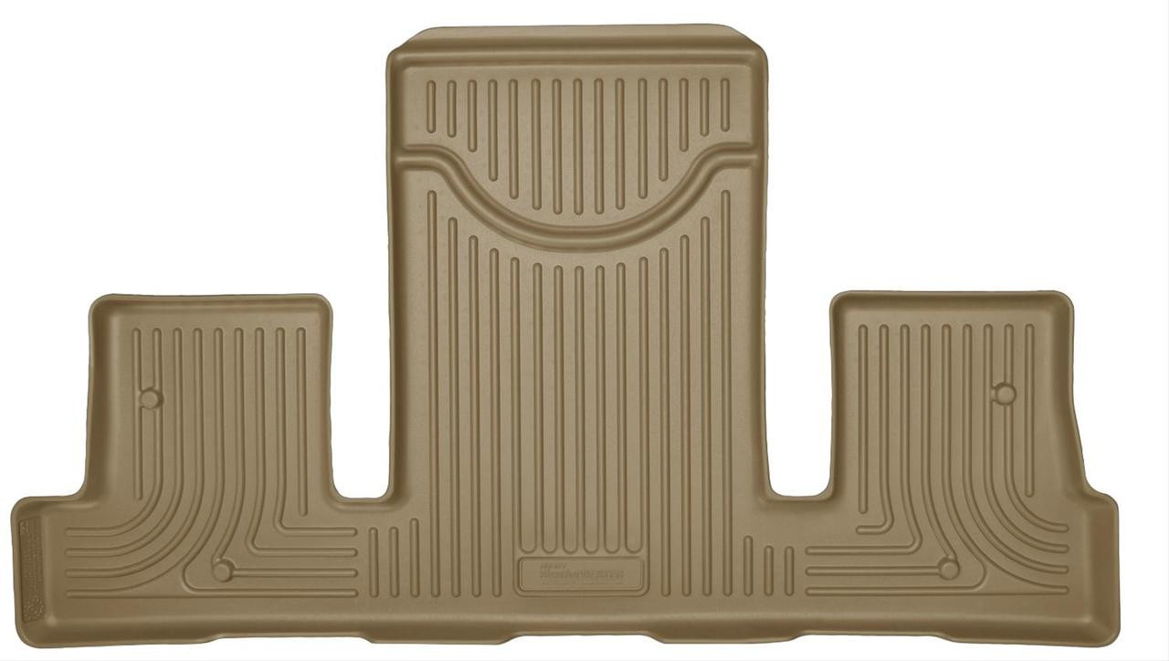 07-16 ACADIA/17-17 ACADIA LIMITED/08-17 ENCLAVE/07-10 OUTLOOK/09-17 TRAVERSE 3RD SEAT FLOOR LINER TAN