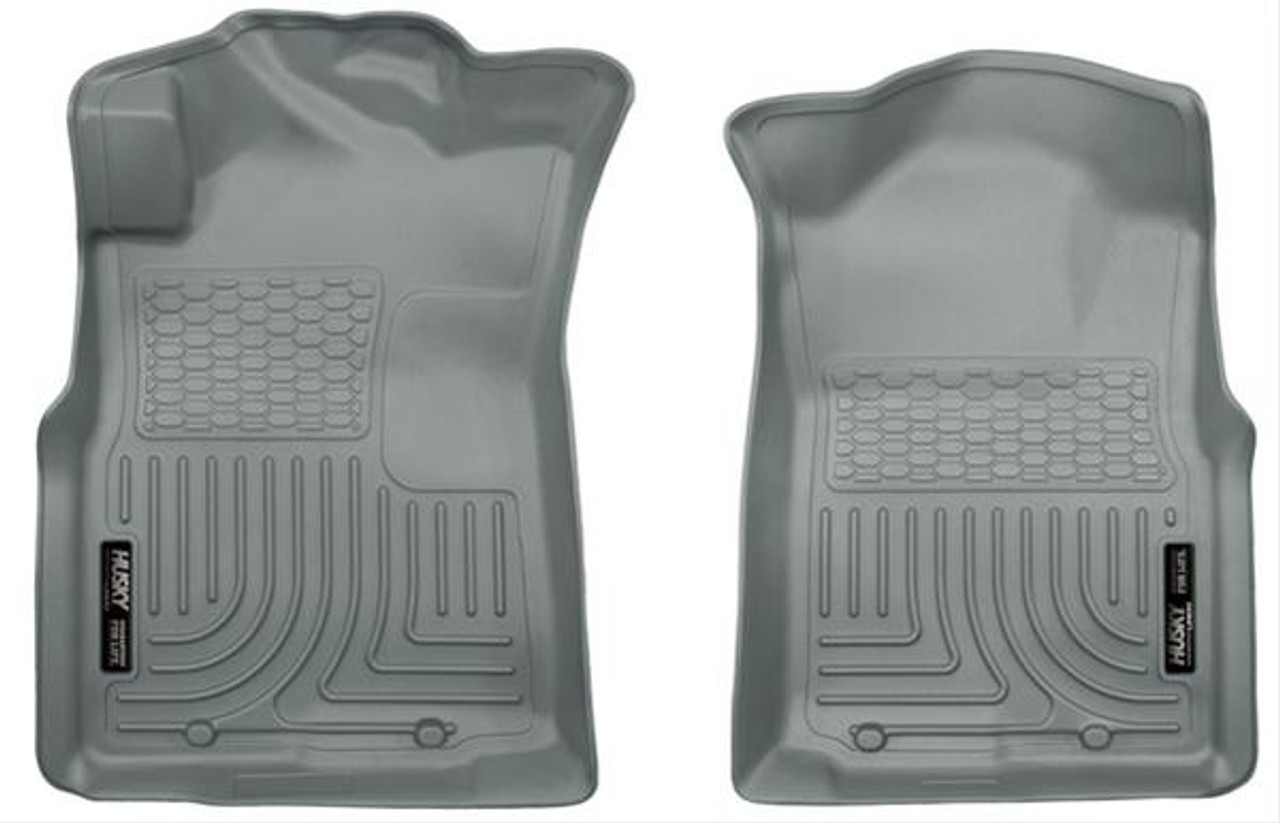 05-15 TACOMA FRONT FLOOR LINERS WEATHERBEATER SERIES GREY
