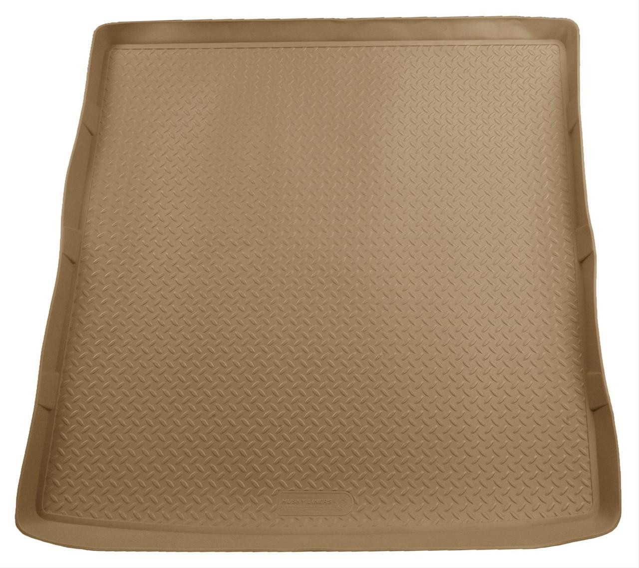 07-16 ACADIA/OUTLOOK (BEHIND 2ND SEAT - FITS OVER FOLDED FLAT 3RD ROW SEAT) REAR LINER TAN