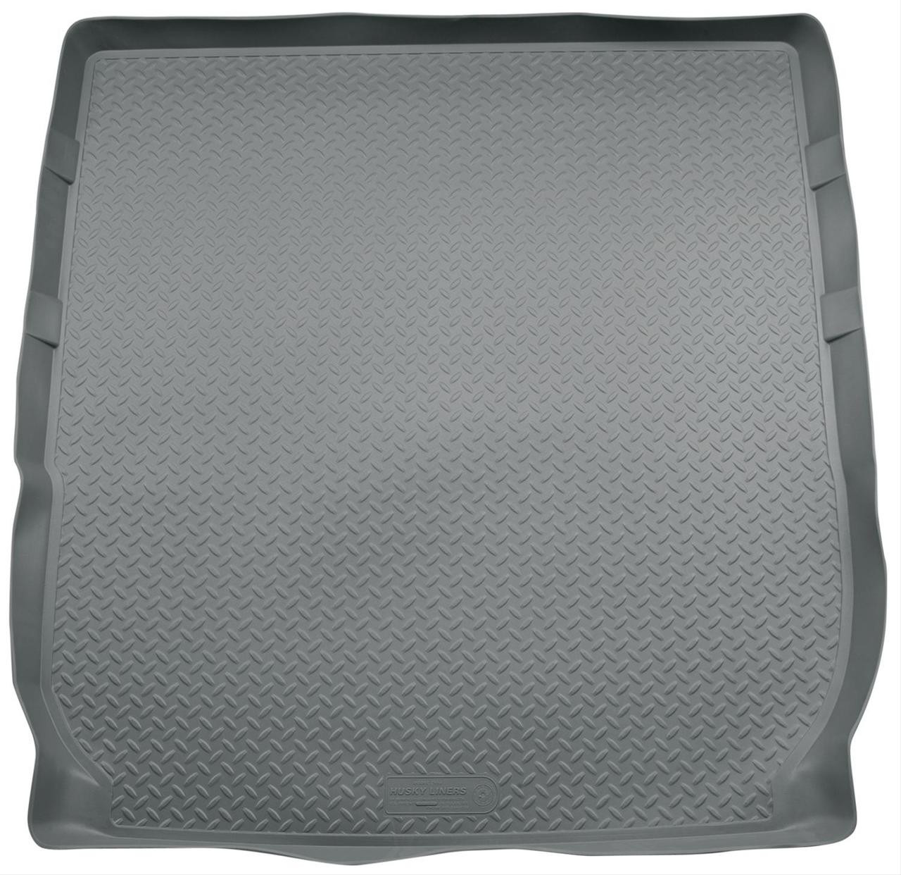 08-16 ENCLAVE/09-16 TRAVERSE (BEHIND 2ND SEAT - FITS OVER FOLDED FLAT 3RD ROW SEAT) REAR LINER GREY