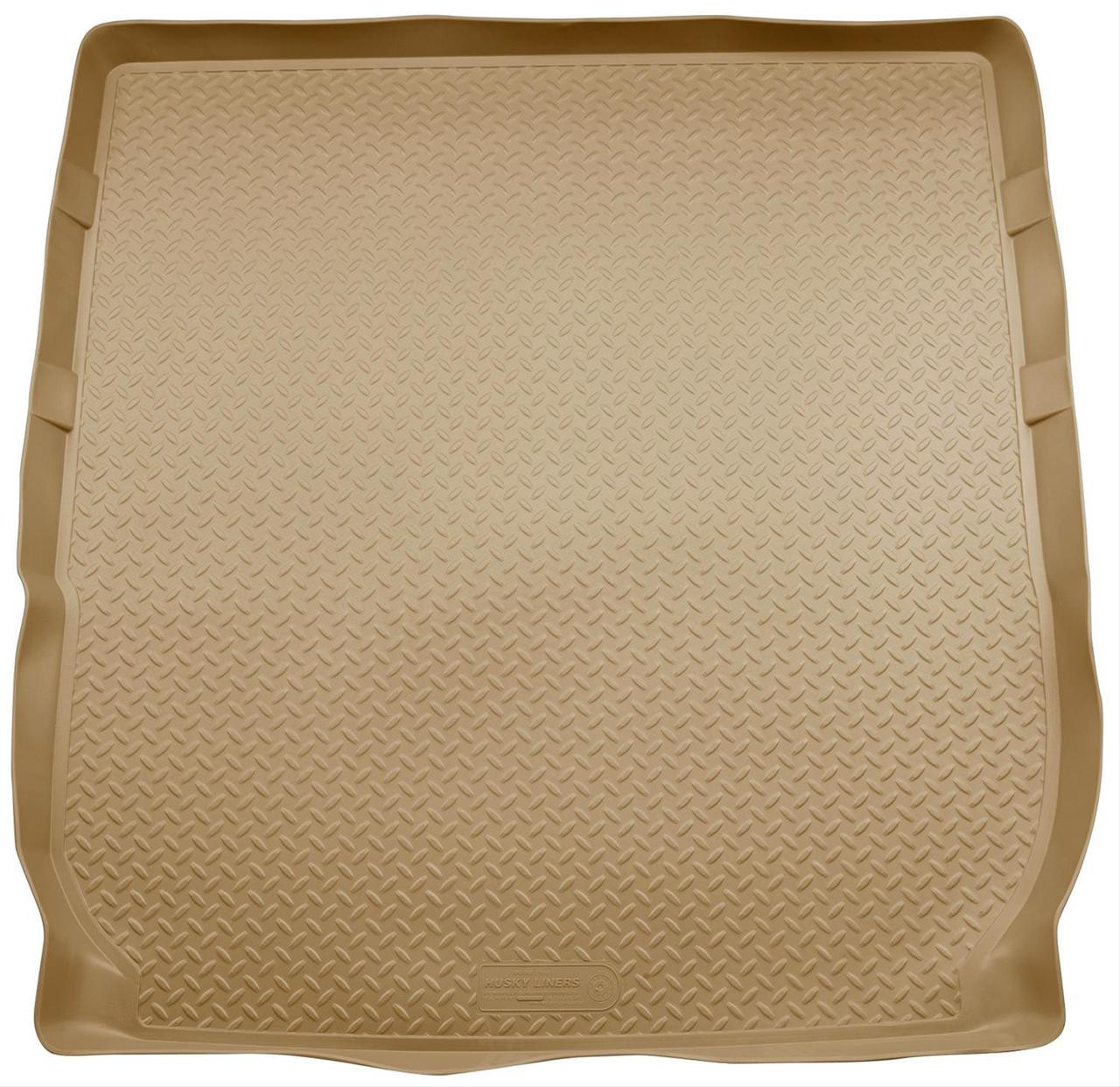 08-16 ENCLAVE/09-16 TRAVERSE (BEHIND 2ND SEAT - FITS OVER FOLDED FLAT 3RD ROW SEAT) REAR LINER TAN