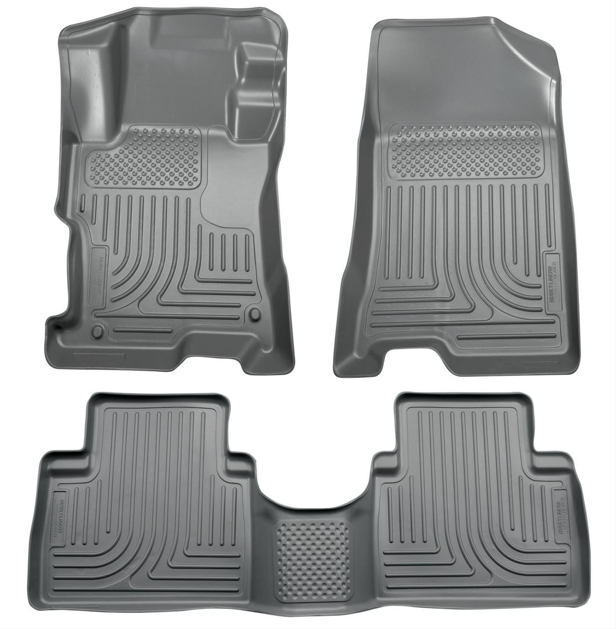 08-12 ACCORD 4-DOOR FRONT AND SECOND SEAT LINER GREY