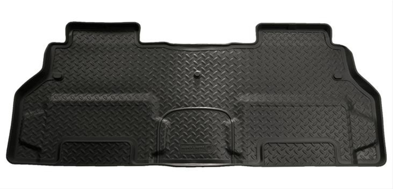 08-16 ENCLAVE/07-16 ACADIA/07-16 OUTLOOK/09-16 TRAVERSE(W/2ND ROW BUCKETS)2ND SEAT FLOOR LINER BLACK