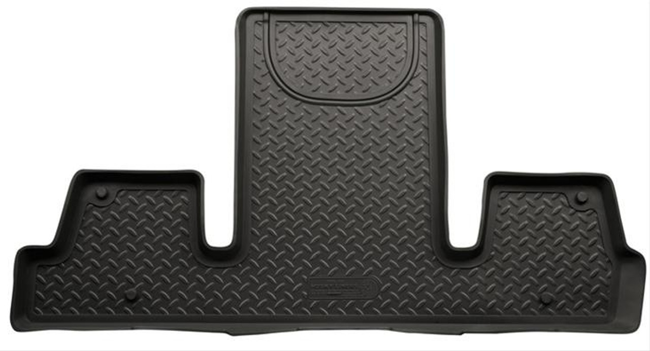 08-16 ENCLAVE/09-16 TRAVERSE/07-16 ACADIA (2ND ROW BUCKET)3RD SEAT CLASSIC FLOOR LINER BLACK